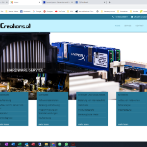 Beispiel Homepage